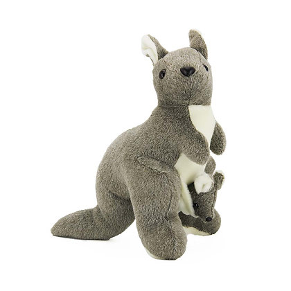 Kangaroo with Baby Plush Animal