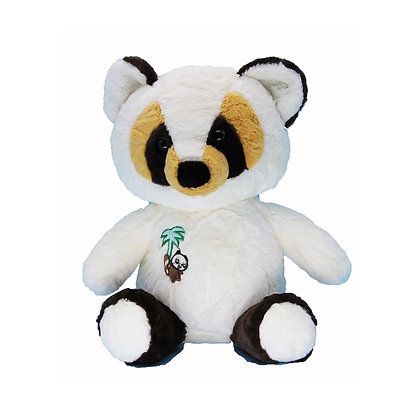 White Raccoon Stuffed Animal