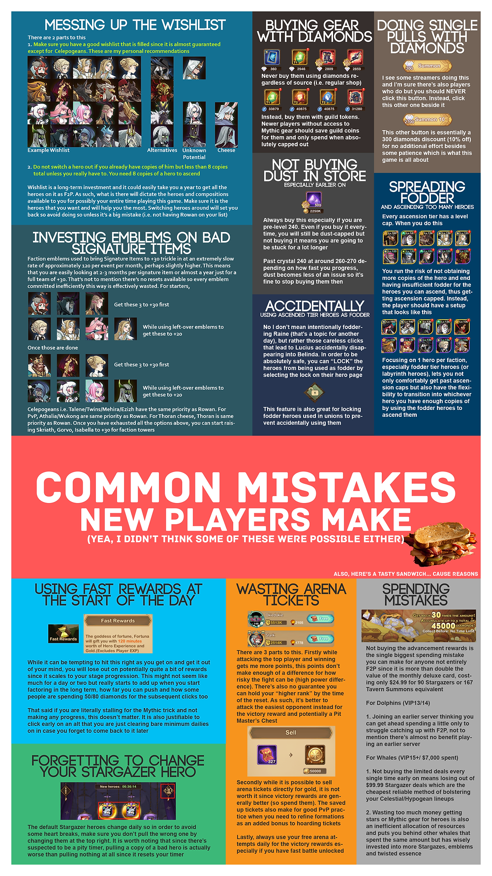 Common Mistakes New Players Make