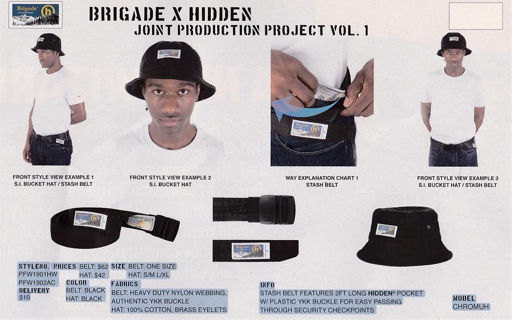 Brigade x Hidden.NY