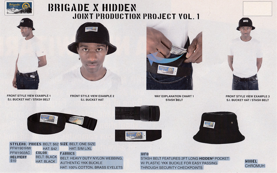 Brigade x Hidden.NY Lookbook