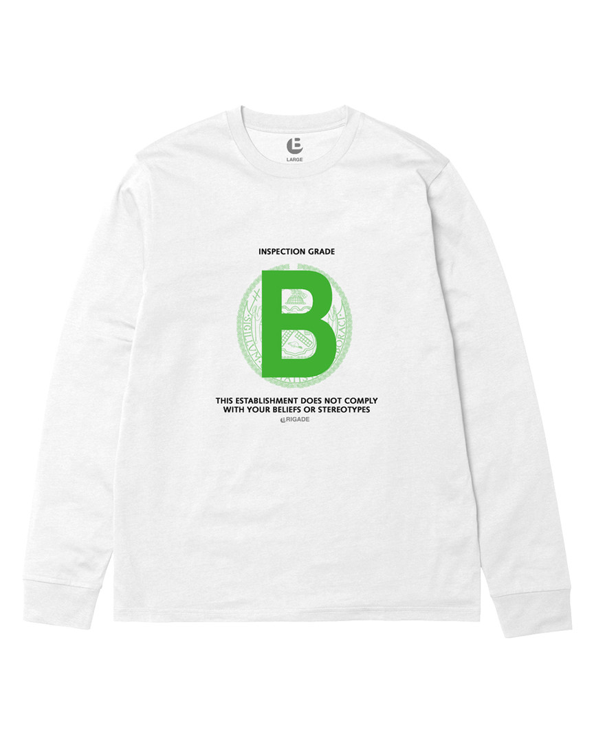 B Rating Long Sleeve T-Shirt