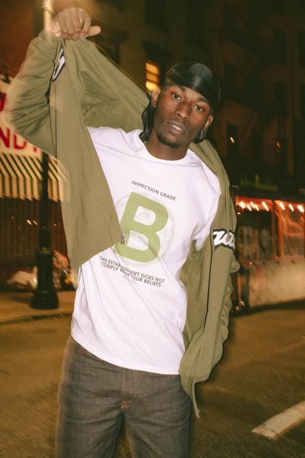 B Rating Long Sleeve T-Shirt