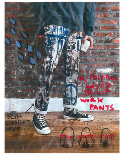 POLY-TWILL WORK PANTS