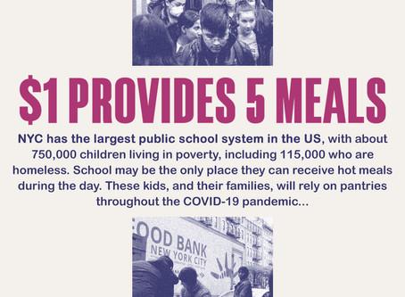 COVID-19, Food Bank NYC, & Brigade
