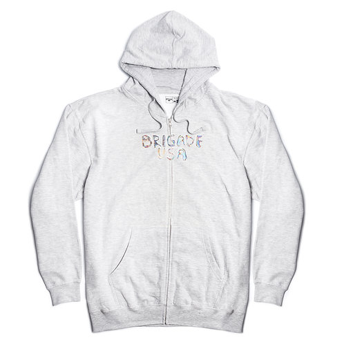 Mini Bubble Zip-Up Hoodie