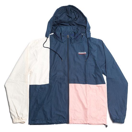 Color Blocked Warm-Up Suit