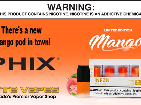 PHIX Mango pods and new colors!