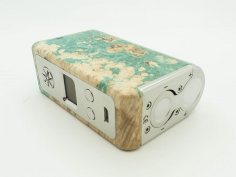 asMODus Minikin Kodama Edition 150W Stabilized Wood Box Mod