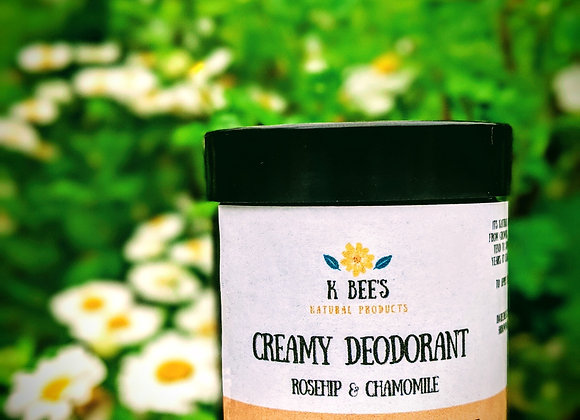 Creamy Deodorant Rosehip & Chamomile