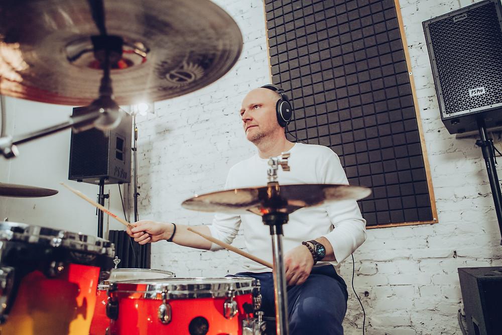 Алексей Хрипач. Фото со съемок клипа группы Магнитная Аномалия 2021 год
