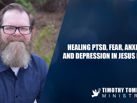 Healing PTSD, Fear, Anxiety and Depression in Jesus name.