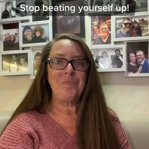 Don't beat yourself up! With Pastor Sarah