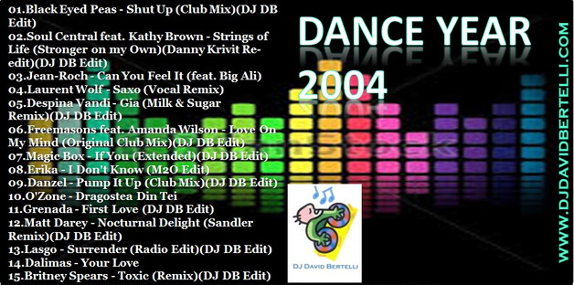 DJ David Bertelli - Dance Year 2004