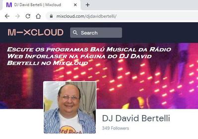 Mixcloud - DJ David Bertelli