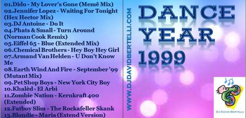 DJ David Bertelli - Dance Year 1999