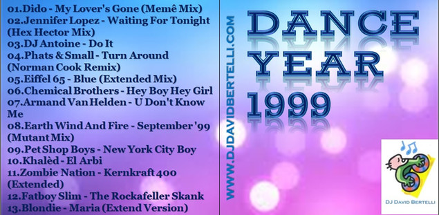 DJ David Bertelli - Dance Year 1999