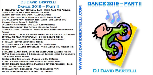 DJ David Bertelli - Dance 2019 - Part II