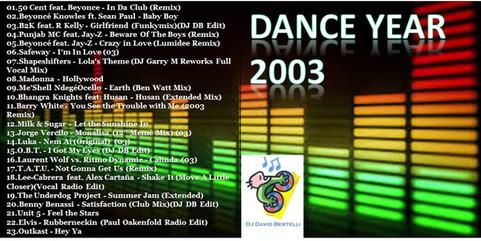 DJ David Bertelli - Dance Year 2003