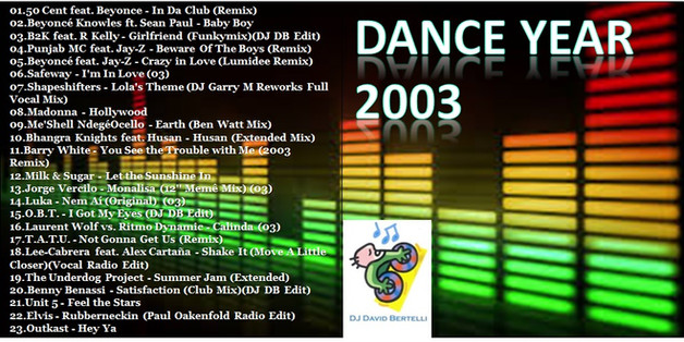 DJ David Bertelli - Dance Year 2003