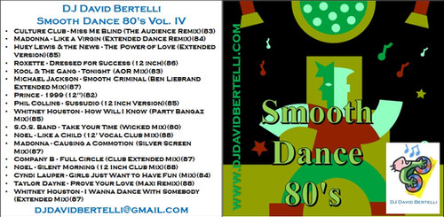 DJ David Bertelli - Smooth Dance 80's - Vol IV