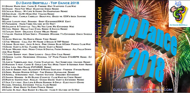 DJ David Bertelli - Top Dance 2018