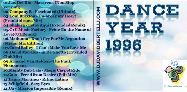 DJ David Bertelli - Dance Year 1996