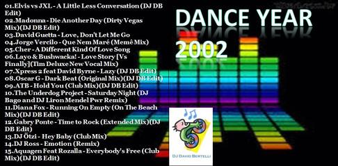 DJ David Bertelli - Dance Year 2002