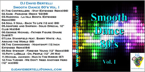 DJ David Bertelli - Smooth Dance 80's - Vol I