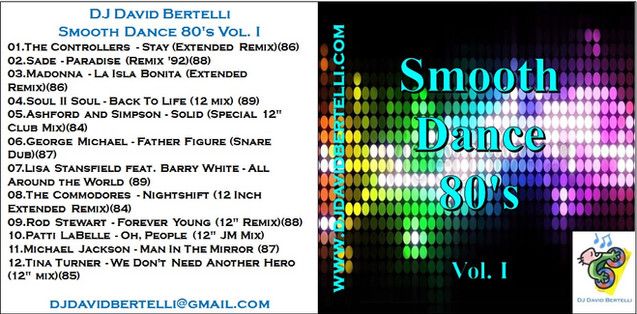 DJ David Bertelli - Smooth Dance 80's - Vol I