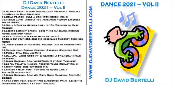 DJ David Bertelli - Dance 2021 - Vol II