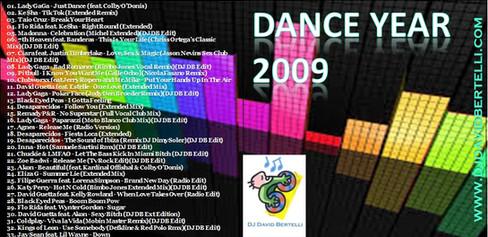 DJ David Bertelli - Dance Year 2008