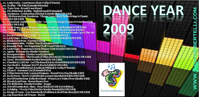 DJ David Bertelli - Dance Year 2008
