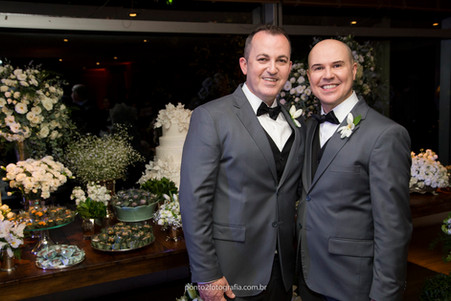 Casamento Robson & Roberto - Restaurante Trio 19 SP - 14-10-16