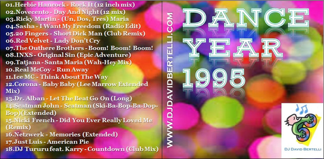 DJ David Bertelli - Dance Year 1995