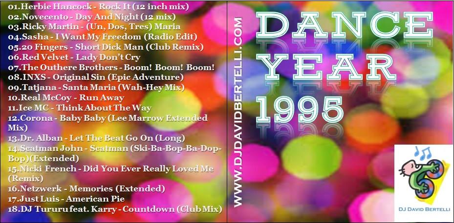 Dance Year 1995 by DJ David Bertelli