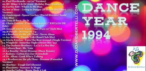 DJ David Bertelli - Dance Year 1994