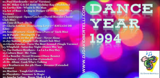 DJ David Bertelli - Dance Year 1994