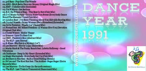 DJ David Bertelli - Dance Year 1991
