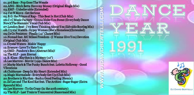 DJ David Bertelli - Dance Year 1991