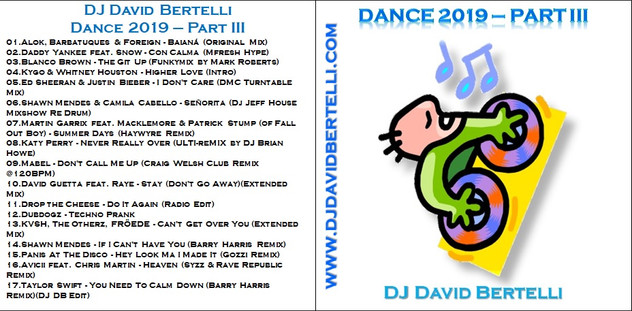 DJ David Bertelli - Dance 2019 - Part III
