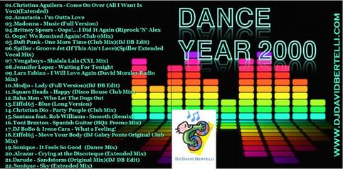 DJ David Bertelli - Dance Year 2000