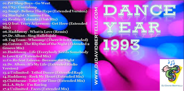 DJ David Bertelli - Dance Year 1993