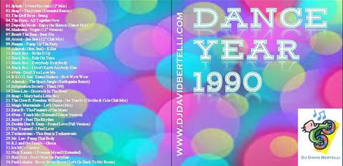 DJ David Bertelli - Dance Year 1990
