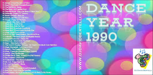 DJ David Bertelli - Dance Year 1990
