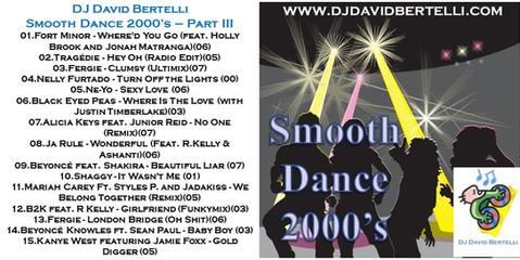 DJ David Bertelli - Smooth Dance 2000's - Vol. 3