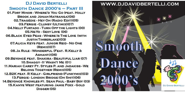 DJ David Bertelli - Smooth Dance 2000's - Vol. 3