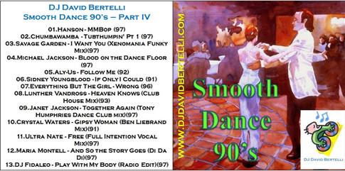 DJ David Bertelli - Smooth Dance 90's - Vol. IV