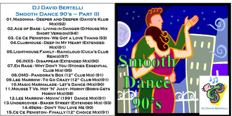 DJ David Bertelli - Smooth Dance 90's - Vol. III