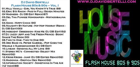 Flash House 80s & 90s - Vol. I
